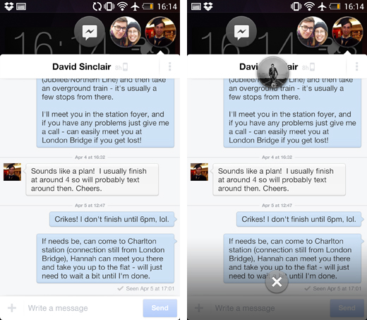 Chat Heads Comes To Facebook Messenger For Android