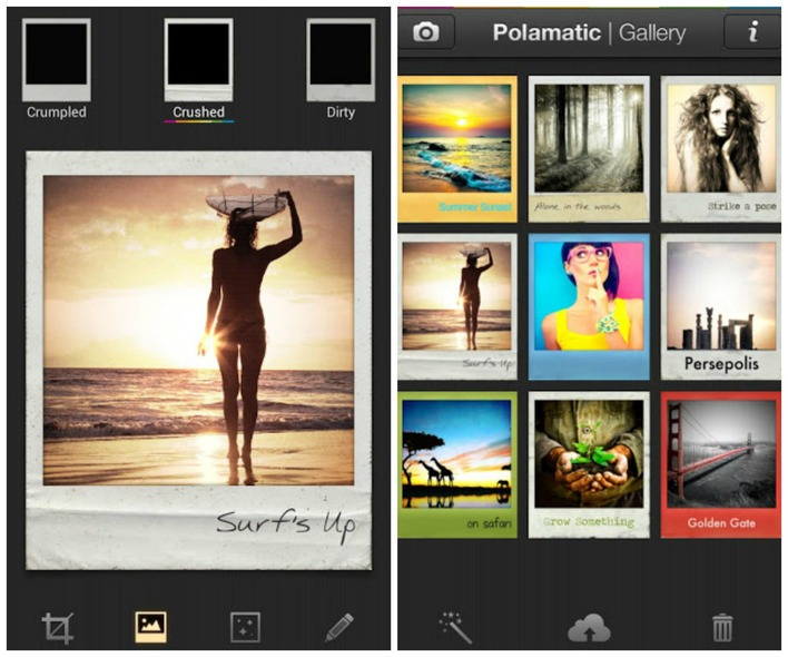 polaroid photo frames free for android appszoom